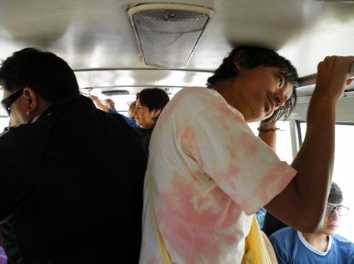 ユーラ行きのバス