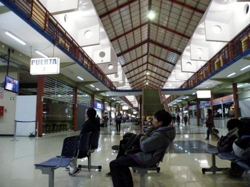 アヤクチョ バスターミナル