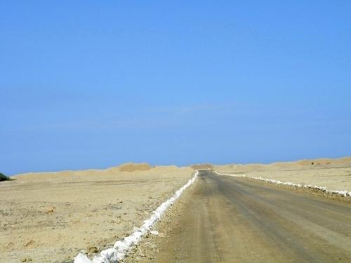 チャンチャン遺跡までの道