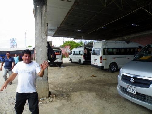 バグア・グランデ Bagua Grande バスターミナル