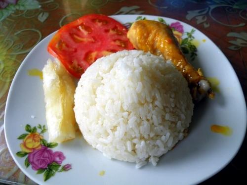 ペルー 最後のご飯