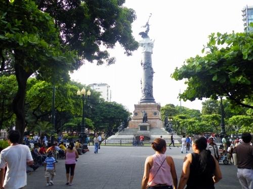 グアヤキル 広場
