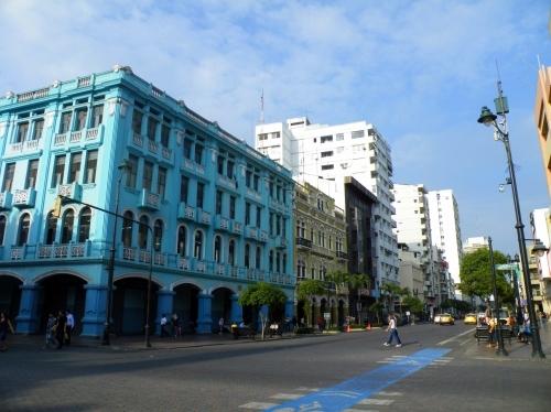 グアヤキル 道