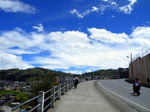 グアランダ Guaranda 道