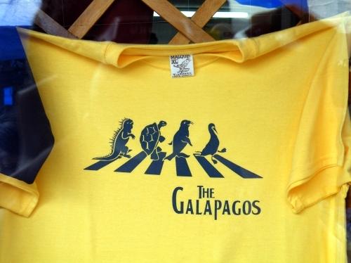 ガラパゴスTシャツ