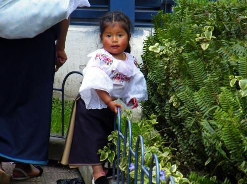オタバロ 民族衣装 Otabalo