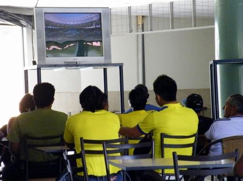 エクアドル人 サッカーの応援