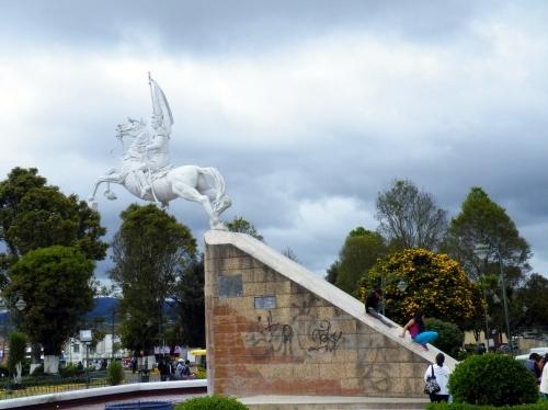 トゥルカン Tulcan 広場
