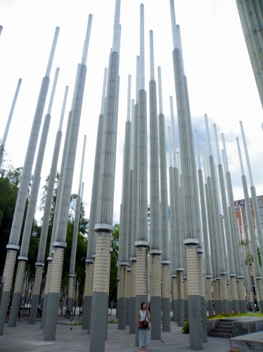 長い棒の広場