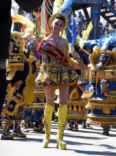 ボリビア オルロのカーニバル