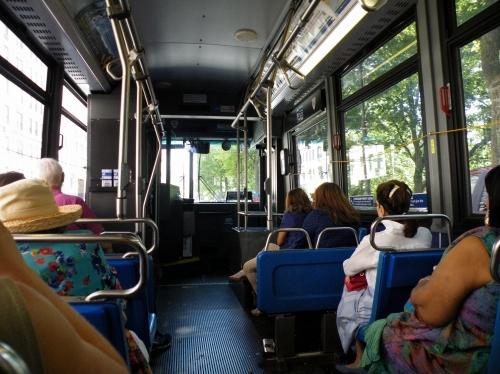 ニューヨーク バス