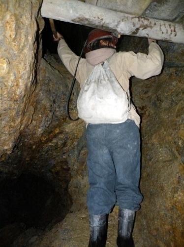 ステファニーと鉱山ツアー