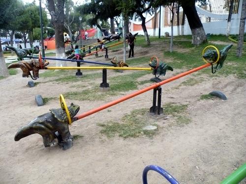 スクレの恐竜公園