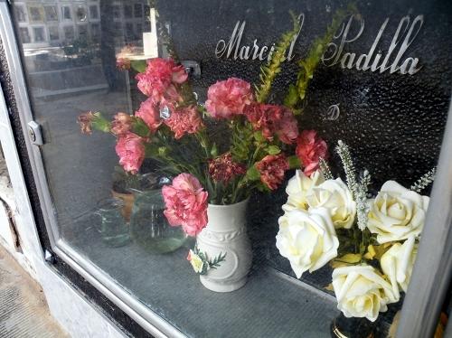 スクレのお墓の窓の中