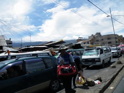 コチャバンバの渋滞