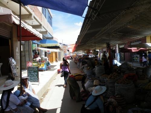 サカバの市場