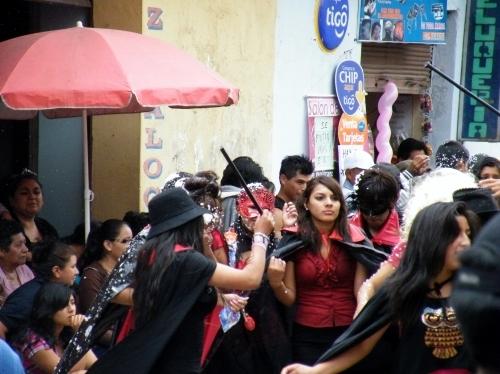 サカバのカーニバルの風景