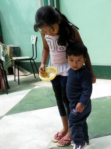 ヴァラポ(Guarapo)屋の子供たち