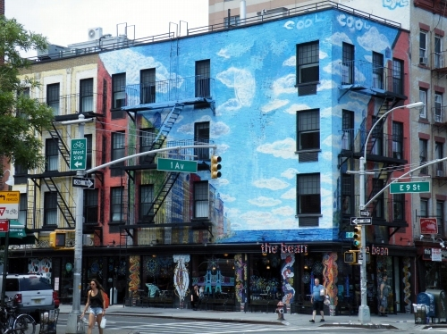 ニューヨーク 街角風景