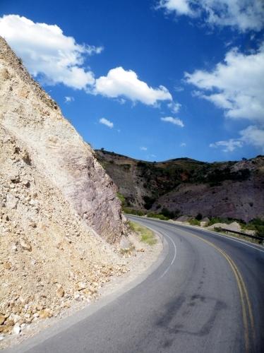 ラパスへの道路