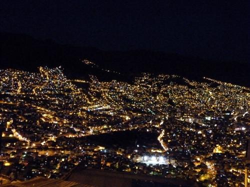 エルアルトからの夜景
