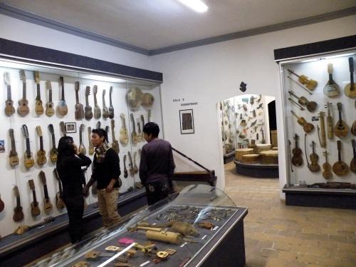 楽器博物館の中