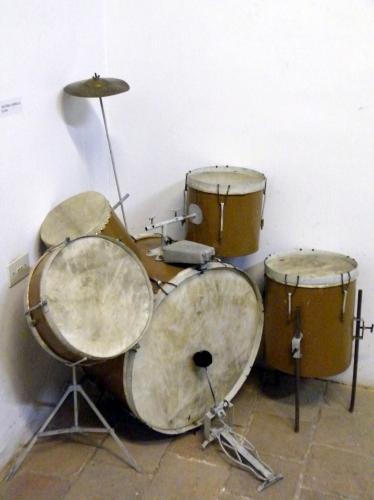 古い ドラムセット