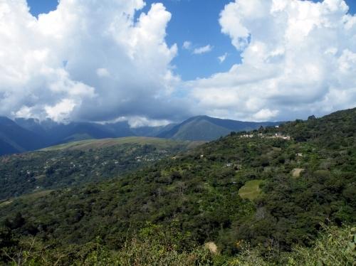 ボリビア アンデス山脈