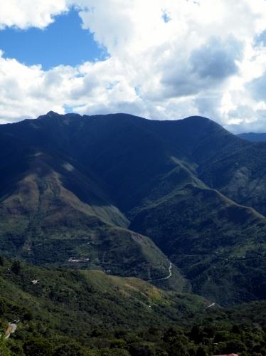 山岳部 景色