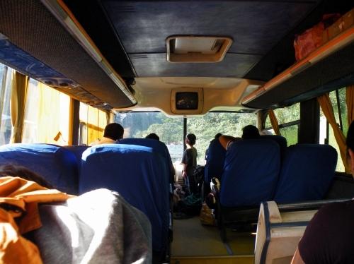 ラパスからルレナバケ バス