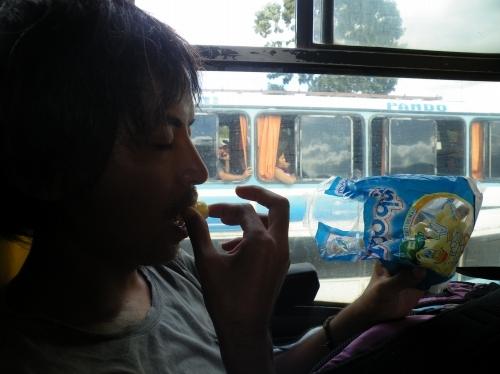 ボリビア お菓子 まずい