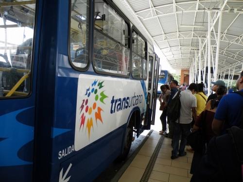 市内バス グアテマラシティ