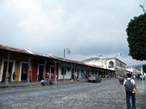 アンティグア 街角
