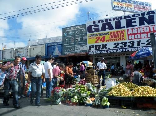 グアテマラシティ メルカド