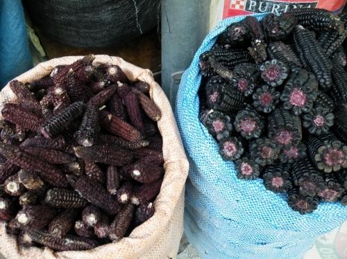 黒いトウモロコシ