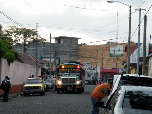 グアテマラからエルサルバドル