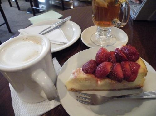 ブルーベリーカフェ ケーキ