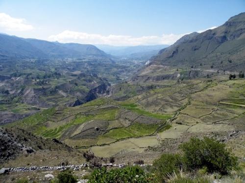 絶景 コルカ渓谷