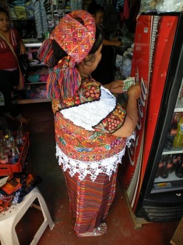 アグアカタン 民族衣装