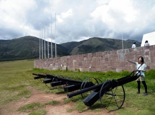 パンパ・デ・アヤクチョ Pampa de Ayacucho キヌア・ヒストリカルサンクチュアリー