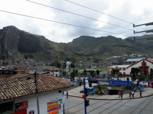 ワンカベリカ Huancavelica 街並み