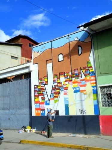 タルマ 壁の絵
