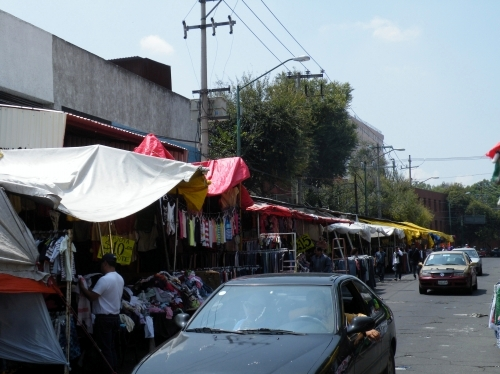 メキシコシティ 古着市