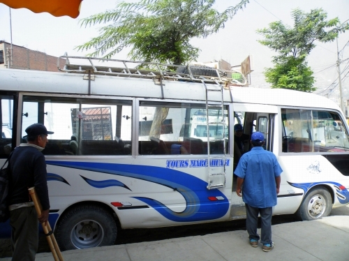 サンペドロデカスタ行き バス
