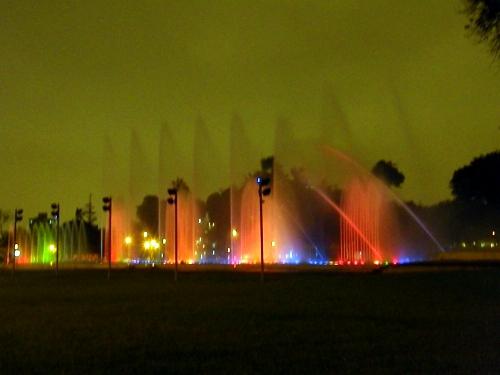 魔法の噴水 リマ 公園
