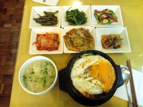 ラパスの韓国料理屋