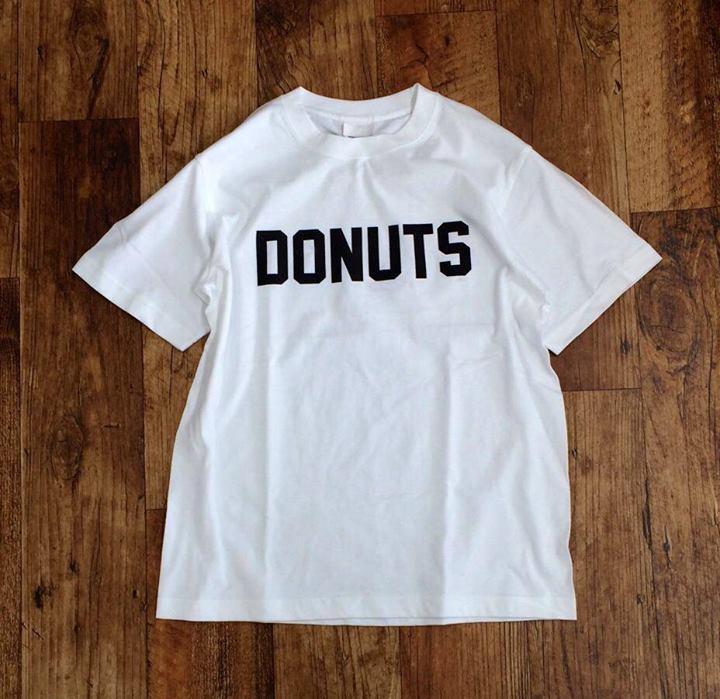 "tocotoco 2周年Tシャツ ""donuts"" TEE"