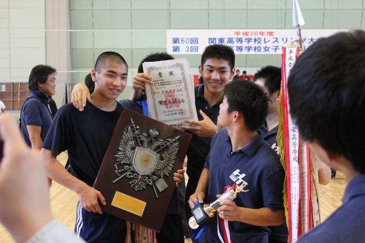 花咲徳栄高等学校 レスリング部