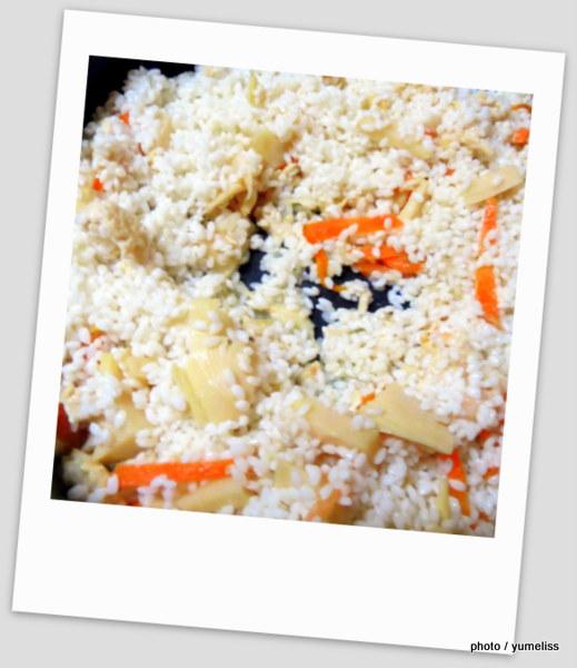 ジョイクックミニ調理例「筍ご飯」