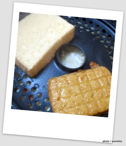 ジョイクックミニ同時に調理例「炊き込みご飯」